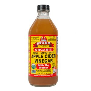 Braggs RAW Organic Apple Cider Vinegar with the Mother 473ml