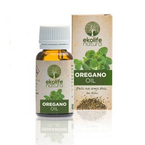 Ekolife Organic Wild Oregano Essential Oil 10ml