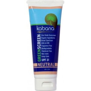 Kabana Organic Sunscreen SPF 31 Tinted Neutral 115g