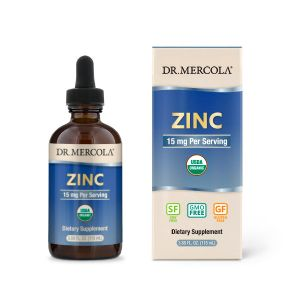 Dr Mercola Liquid Zinc Drops 115ml