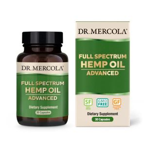 Dr Mercola Full Spectrum Hemp Oil Advanced 30 Caps