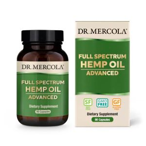 Dr Mercola Full Spectrum Hemp Oil Advanced 90 Caps