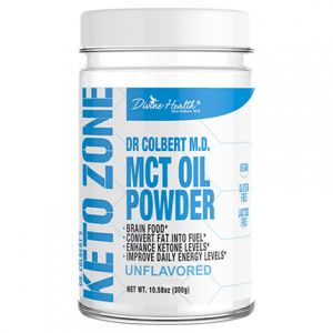 Divine Health Keto Zone MCT Oil Powder Unflavoured 300g