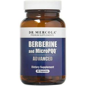 Dr Mercola Berberine and MicroPQQ Advanced 30 Caps